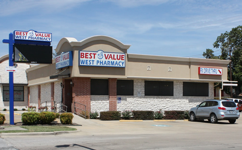 A picture of the Best Value Pharmacies West Pharmacy store