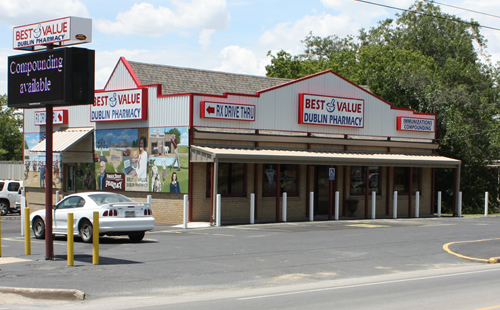 A picture of the Best Value Pharmacies Dublin, Texas store