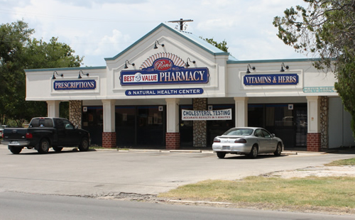 A picture of the Best Value Pharmacies Ron's Pharmacy store