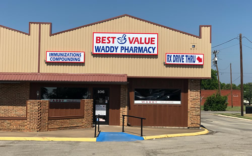 A picture of the Best Value Pharmacies Waddy Pharmacy store